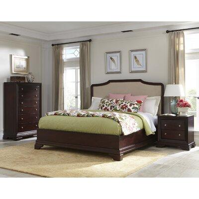 Newport Upholstered Storage Platform Bed Cresent Furniture Size: King