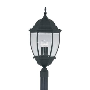Reviews Thornhill 3-Light Lantern Head By Three Posts