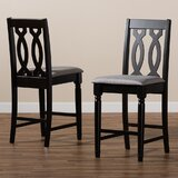 Emmett 25'' Counter Stool (Set of 2) by Canora Grey