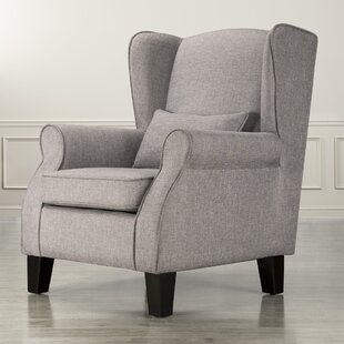 Bargain Mainville Wingback Chair ByThree Posts