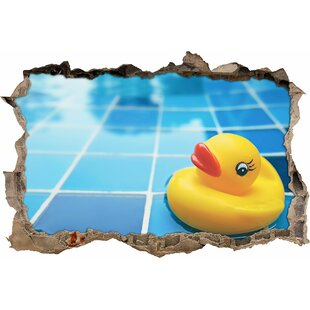 Small Rubber Duck Wall Sticker By East Urban Home