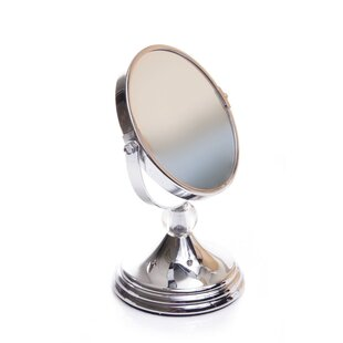 Savings Mini Glamour Mirror with Acrylic Ball Finial By Wildon Home ®