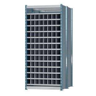 Deep Bin Thirteen Shelf Shelving Unit Starter by Hallowell