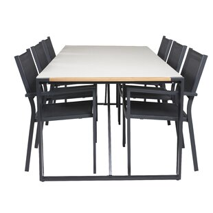 Jiya 6 Seater Dining Set By Sol 72 Outdoor