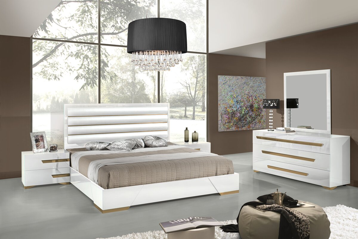 Willa Arlo Interiors Eloisa Platform 5 Piece Bedroom Set & Reviews ...