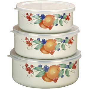 Abundance 3 Container Food Storage Set