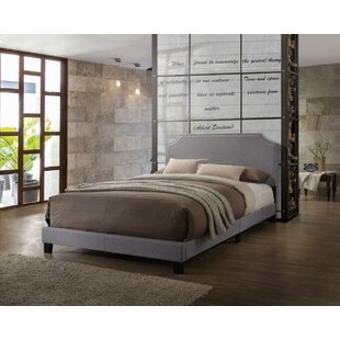 Donavan Upholstered Panel Bed by Charlton Home
