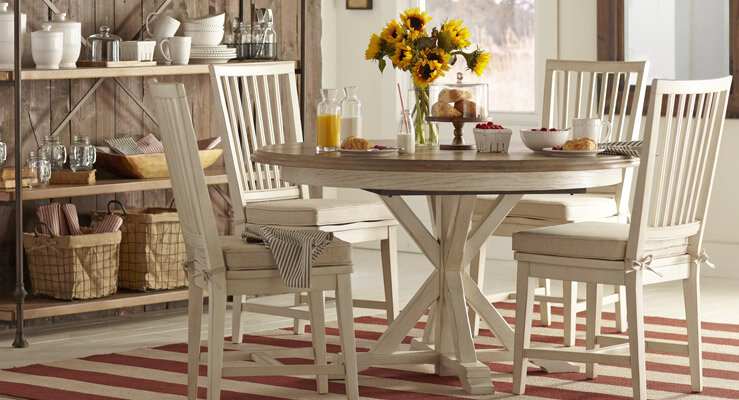 Bernards Dining Room Eden Casual Dining Set 5678-500 ...
