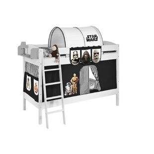 Cutter European Single Bunk Bed With Textile Set By Zoomie Kids