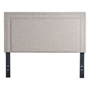Cullens Full Upholstered Panel Headboard by Charlton Home