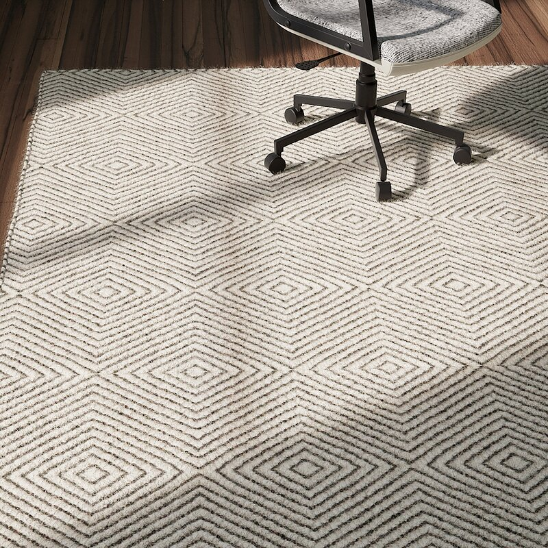 Marcelo Hand Tufted Wool Cotton Ivory Area Rug Amp Reviews