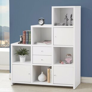 Catargiu Asymmetrical Cube Unit Bookcase