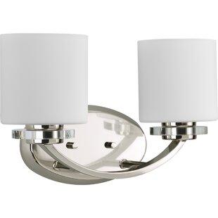 Rosdorf Park Renee 2-Light Vanity Light