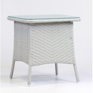 Isabell Wicker Side Table