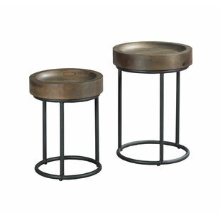 Justine 2 Piece Nesting Tables by Foundry..