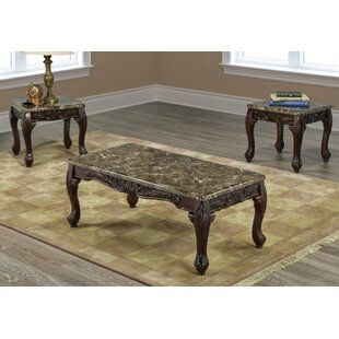 Ranee 3 Piece Coffee Table Set
