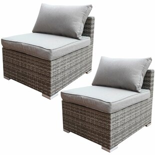 Arjun Patio Chair with Cushion (Set of 2)