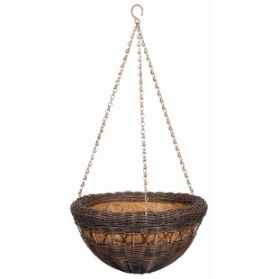 Outdoor Hanging Planter Hanging planters youll love wayfair all weather resin hanging planter workwithnaturefo