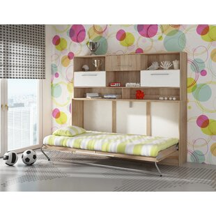 Compare prices Ciel Murphy Bed with Storage ByLatitude Run
