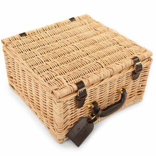 Chilworth Willow Picnic Hamper For Two People By Greenfield