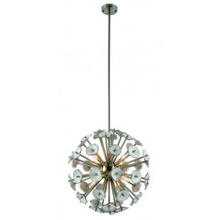 Rosdorf Park Fresnel 8-Light Sputnik Chandelier