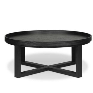 Macy Coffee Table with Tray Top by Loon Peak
