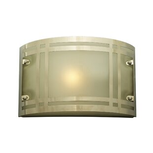 Great deal Ivybridge 1-Light Outdoor Flush Mount By Ebern Designs