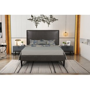 Barkhamsted Queen Upholstered Panel Bed by Ivy Bronx