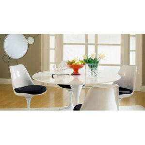 Kemble Marble 5 Piece Dining Set by Latitude Run