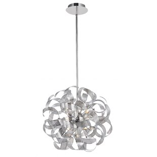 Wade Logan Juliet 12-Light Globe Chandelier