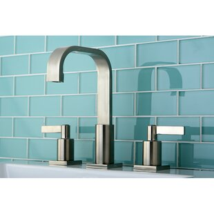 Kingston Brass Continental Widespread Bathroom Faucet with Drain Assembly