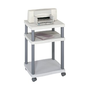 Wave Mobile Printer Stand With 2 Shelves By Symple Stuff