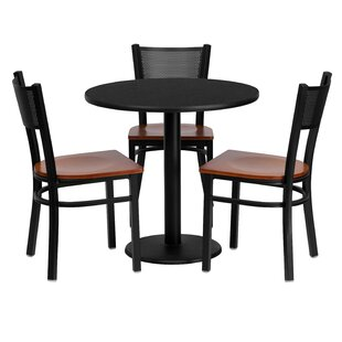 Deepraj 4 Piece Dining Set Red Barrel Studio