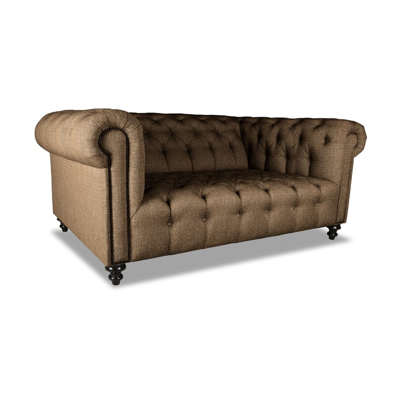 Estill Plush Deep Chesterfield Sofa