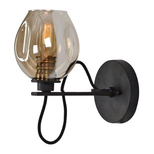 Williston Forge Carroll 1-Light LED Candle Wall Light