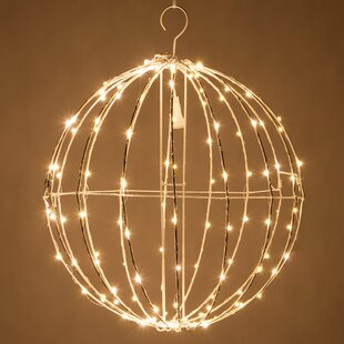 The Holiday Aisle LED Fairy 128 Light Christmas Ball Net Lighting