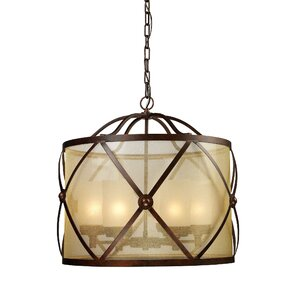 Cumberland 6-Light Drum Chandelier