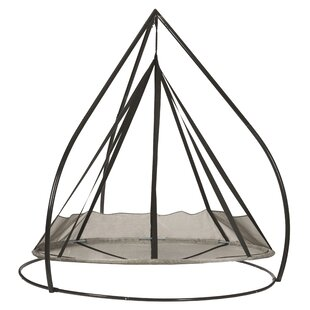 Flying Saucer Chair Hammock with Stand by Flowerhouse