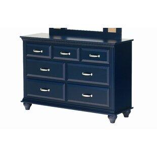 Best Deals Madison 7 Drawer Double Dresser ByLang Furniture