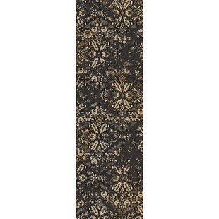Kulpmont Oriental Black Area Rug By Gracie Oaks
