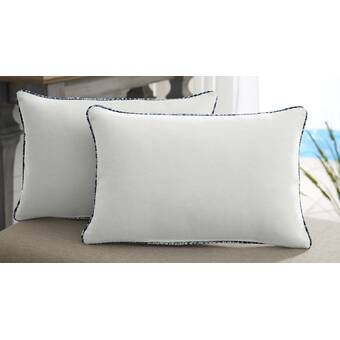 Bay Isle Home Shorehaven Indoor Outdoor Sunbrella Floor Pillow Wayfair