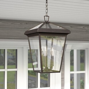 Inexpensive Kala 3-Light Outdoor Hanging Pendant By Darby Home Co