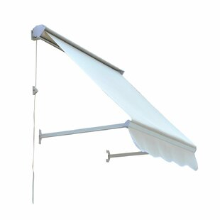 4 ft. W x 2 ft. D Retractable Window Awning by Outsunny