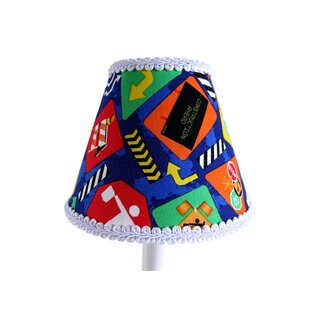 Reviews Construction Cutie 11 Fabric Empire Lamp Shade By Silly Bear Lighting