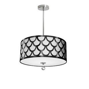 Rosdorf Park Piper 4-Light LED Pendant