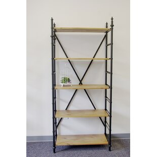 Owensby Metal/Wood Unlimited Extension Office Etagere Bookcase by