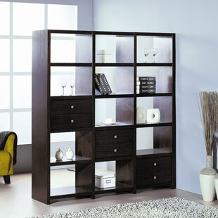 Bisect Standard Bookcase by Hokku Designs Reviews