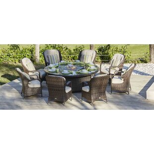 Harpenden 7 Piece Dining Set with Cushions by Darby Home Co