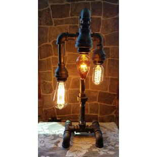 Hayhurst Industrial 3 Tier 18 Arched Table Lamp
