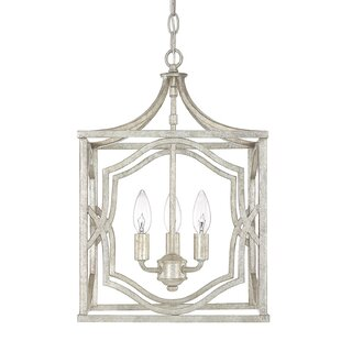 Compare prices Destrey Traditional 3-Light  LED  Pendant By Willa Arlo Interiors